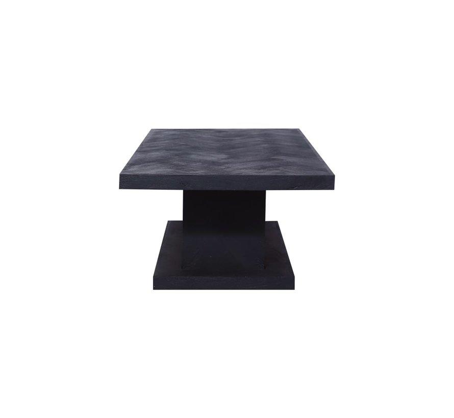 Chess - Blok salontafel - Zilver - visgraat look