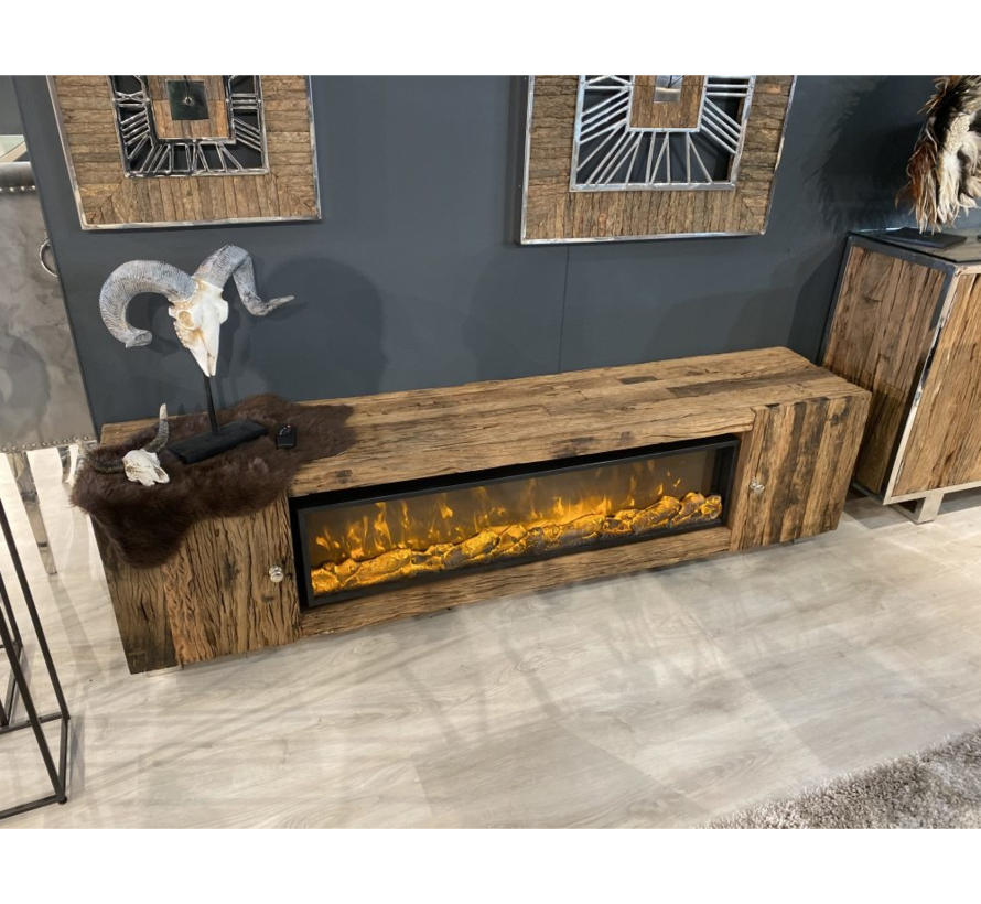 TV- Meubel Sleeper Wood - exclusief sfeerhaard
