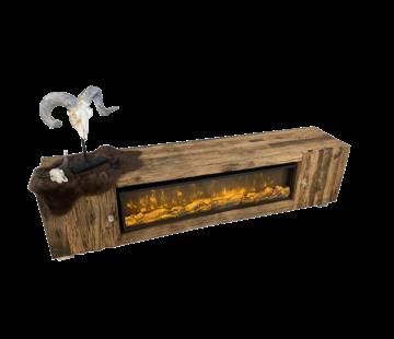 Erik Kuster Style TV- Meubel Sleeper Wood - Exclusief sfeerhaard