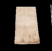 Flora Vloerkleed Fluffy - Brown ( 80 x 150 cm )