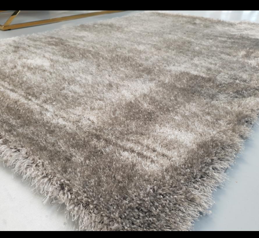 Vloerkleed Long Shaggy - Grijs ( 80 x 150 cm )