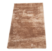 Flora Vloerkleed Long Shaggy - Brown ( 80 x 150 cm )