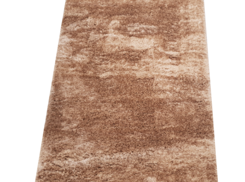 Flora Vloerkleed Long Shaggy - Brown ( 80 x 150 cm )
