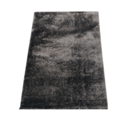 Flora Vloerkleed Long Shaggy - Black ( 120 x 170 cm )