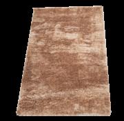 Flora Vloerkleed Long Shaggy - Bruin ( 120 x 170 cm )