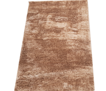 Flora Vloerkleed Long Shaggy - Brown ( 160 x 230 cm )