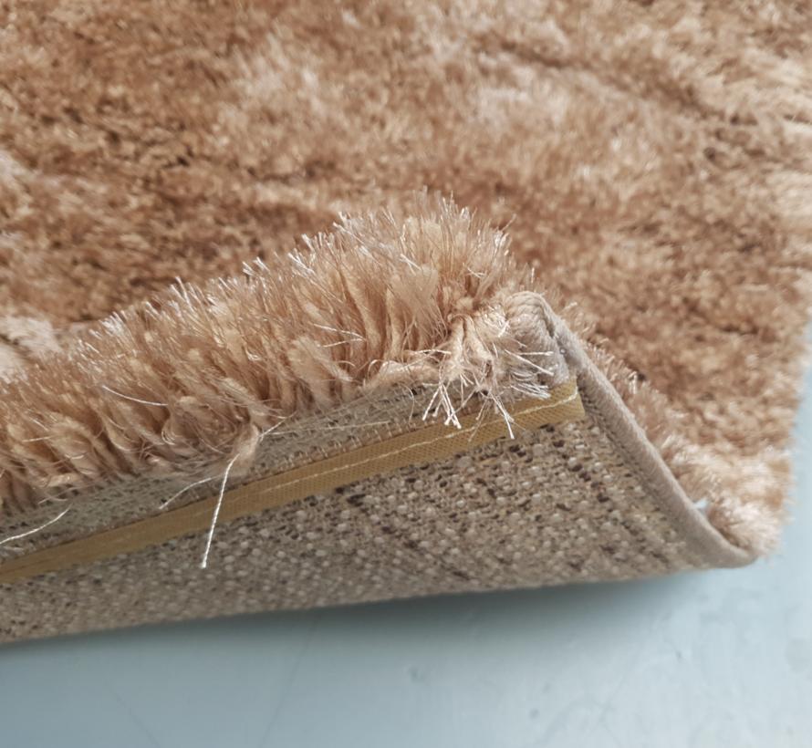 Vloerkleed Long Shaggy - Brown ( 160 x 230 cm )