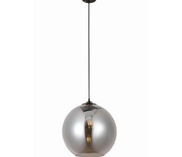 Erik Kuster Style Hanglamp Dubai - 1 licht (Smoking Glass)