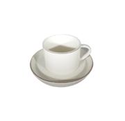Eric Kuster Style Porselein Koffieset | Zilver 12-delig