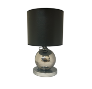 Eric Kuster Style Bollamp Zilver - 1 Bol - Ronde Voet