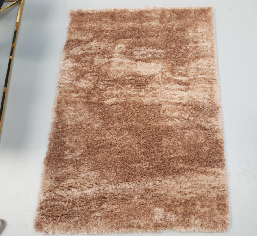 Vloerkleed Long Shaggy - Brown ( 200 x 290 cm )
