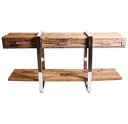 Rixos Console Table - Sleeper Wood