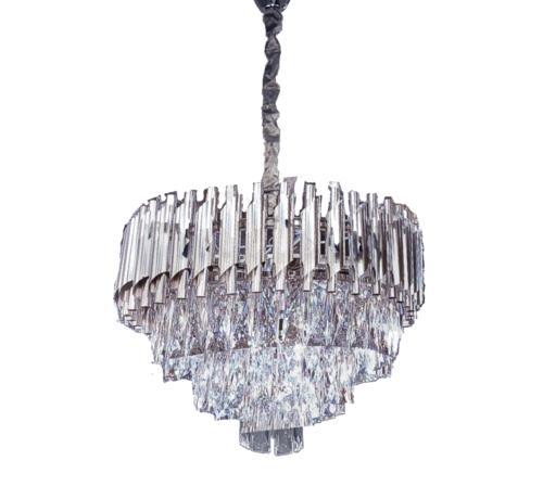 Erik Kuster Style Hanglamp Pearl - Zilver - 45 cm - klein