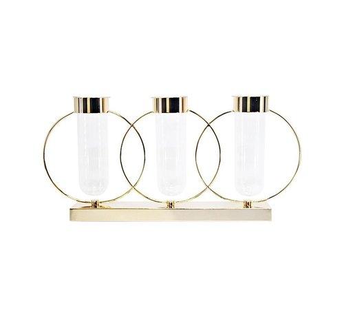 Eric Kuster Style Kandelaar - Elegance - Goud - L