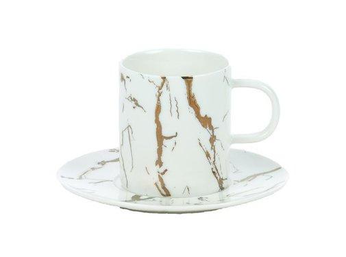 Bricard porcelain Bricard Espresso set Wit