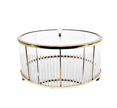 Erik Kuster Style Decoratiebus  - Elegance - Goud - M