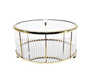 Erik Kuster Style Decoratiebus  - Elegance - Goud - L