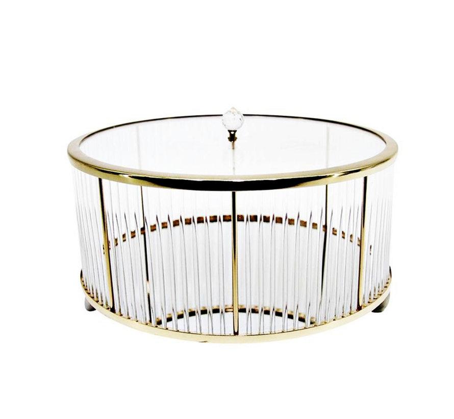 Decoratiebus  - Elegance - Goud - L