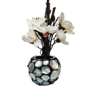 Eric Kuster Style Schelpenvaas - Pearl - Magnolia Bloemen