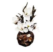 Eric Kuster Style Schelpenvaas - Bronze Pearl - Magnolia Bloemen
