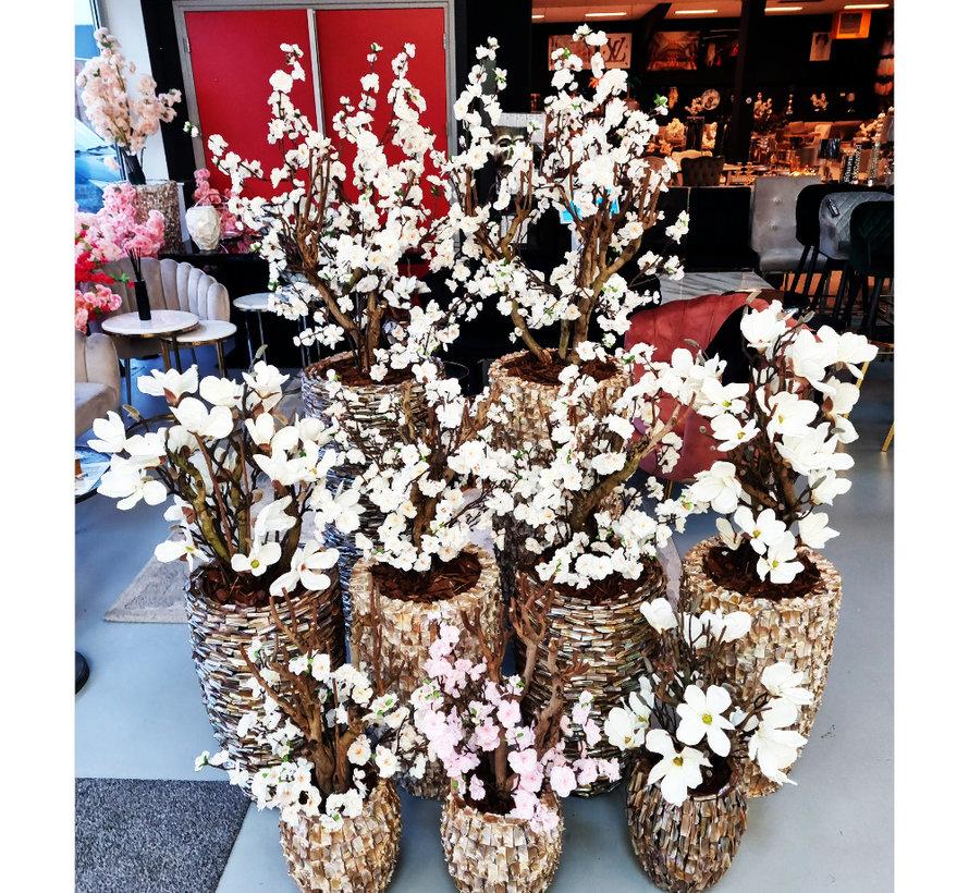 Schelpenvaas - Diamond - Magnolia Bloemen