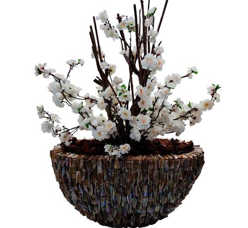 Eric Kuster Style Schelpenvaas - Aurea - White Bloesem