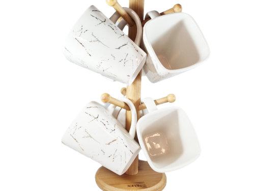 Hayal Mokkenboom - White Pearl - Goud en Wit