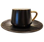 Lavotantik Espressoset - Madrid - Marmer Zwart Goud