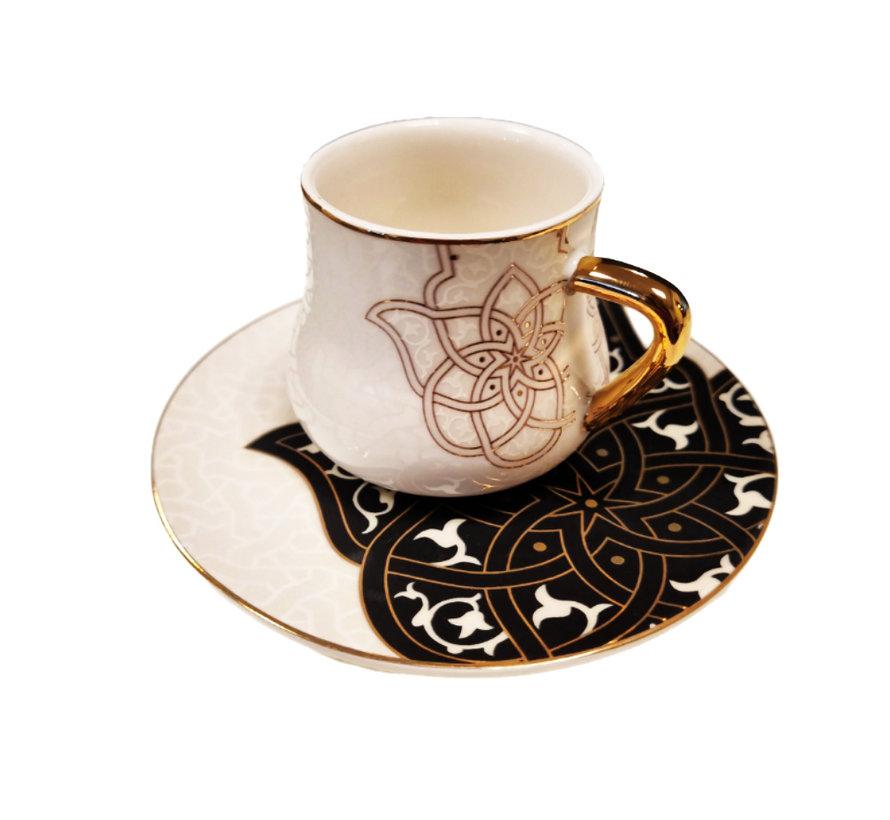 Koffieset  Spirit of Ancient by Otantik Home | Black