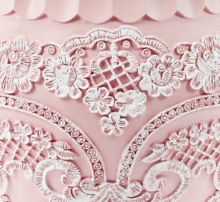 Badset - 5-delig - Roze en Wit