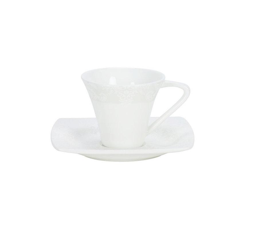 Bricard espressoset- Bordeaux- 12-delig