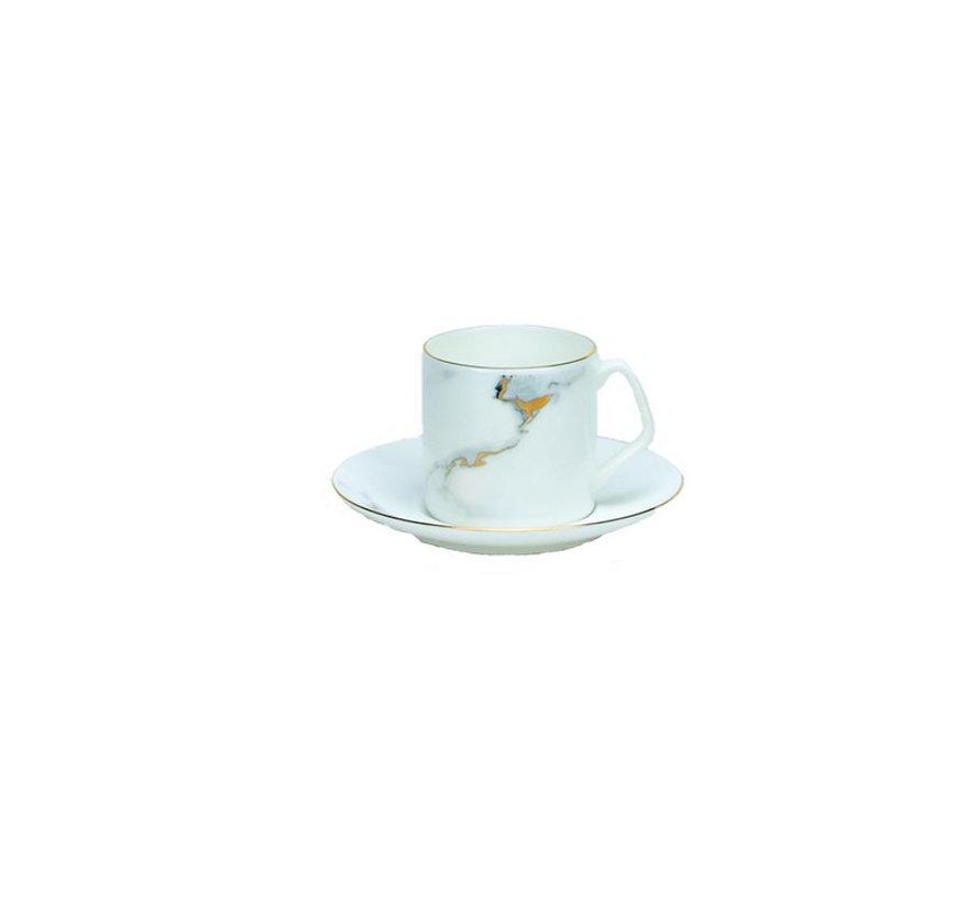 Bricard espresso set- Toulouse- 12-delig