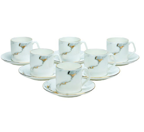 Bricard Bricard koffieset - Toulouse - 12-delig