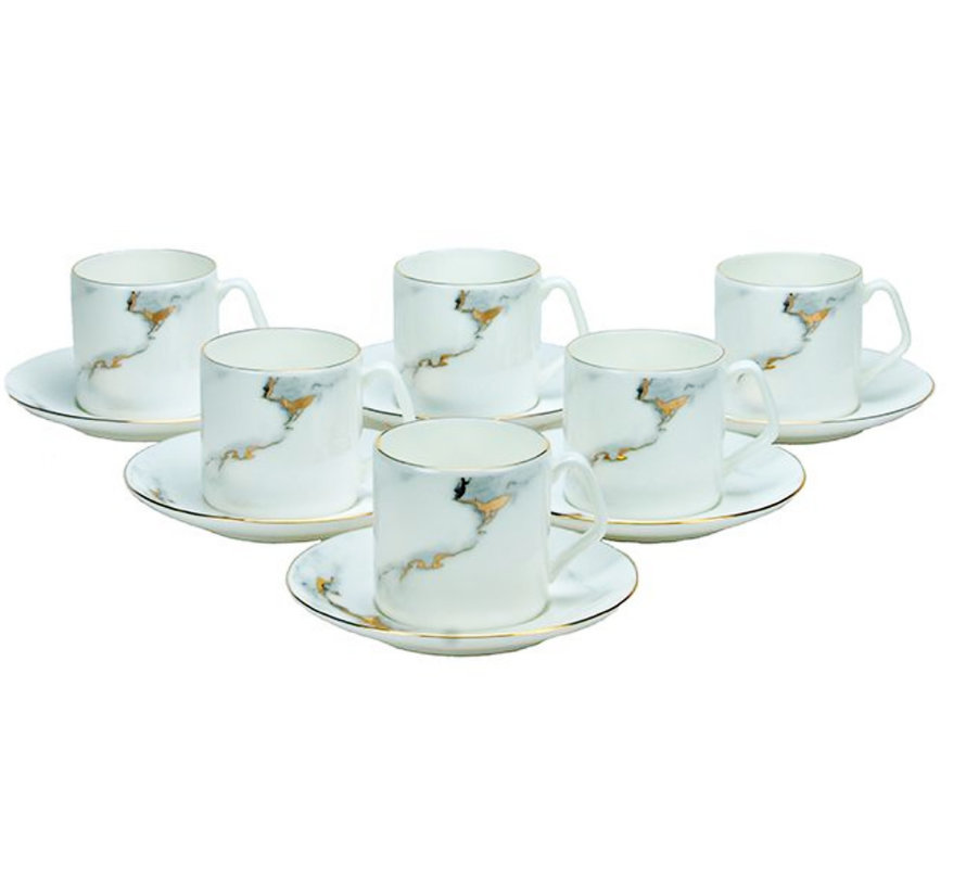Bricard koffieset - Toulouse - 12-delig
