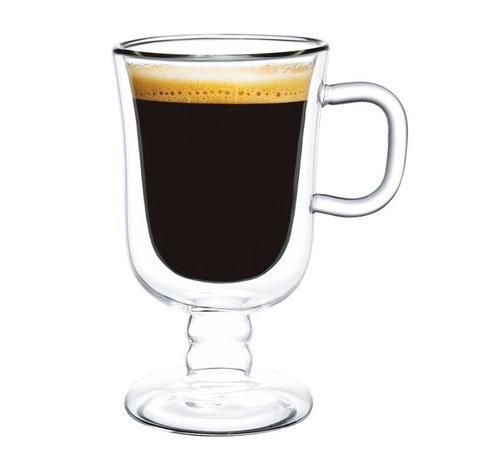Bricard Dubbelwandige Koffieglazen - Karima - 2 Stuks