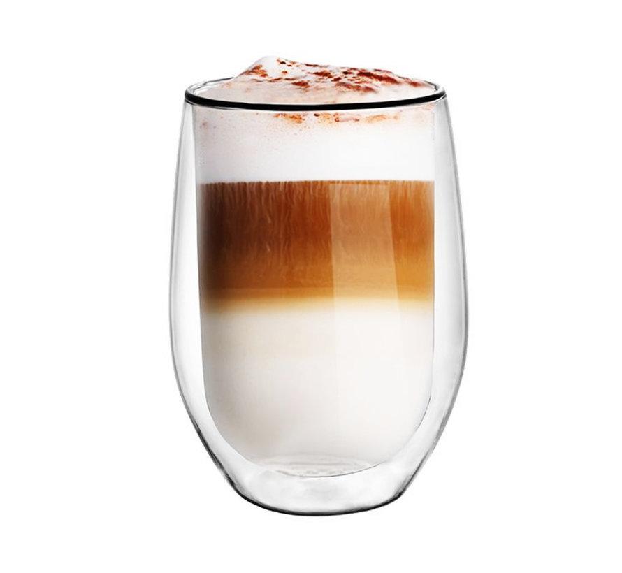 Dubbelwandige Koffieglazen - Nadia - 2 Stuks