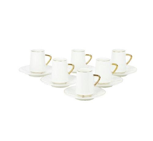 Bricard Bricard espresso set - Avignon - White 12-delig