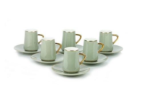 Bricard Bricard espresso set - Avignon - Grey 12-delig