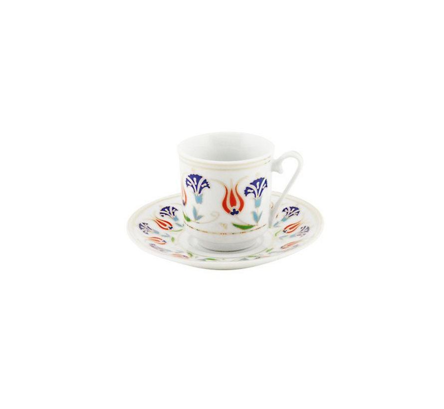 Bricard espresso set - Milaan - 12-delig
