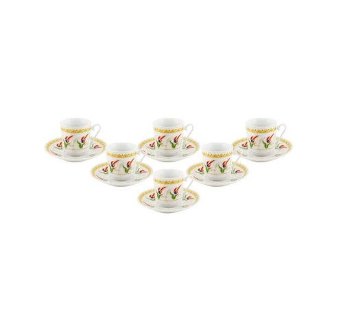 Bricard Bricard espresso set - Napels -12-delig