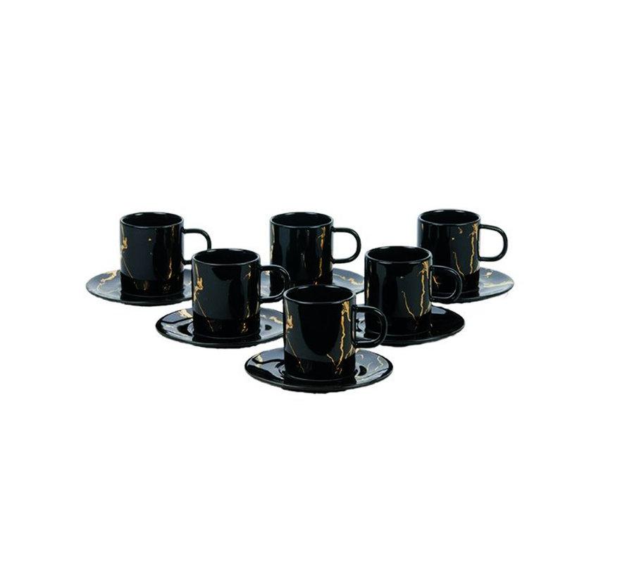 Bricard espresso set - Genua - 12-delig
