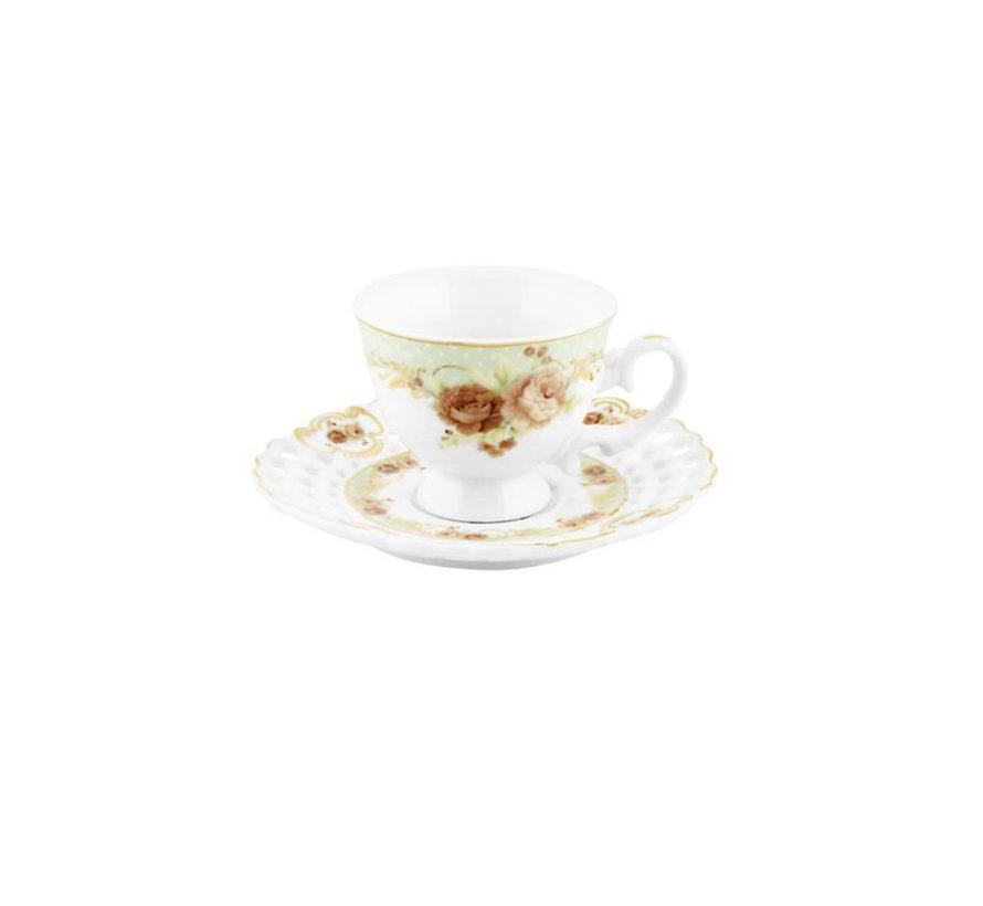 Bricard espresso set - Vicenza - Green 12-delig