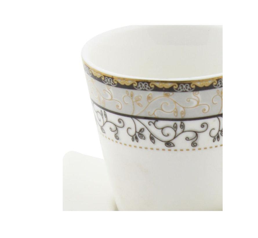 Bricard koffie set - Toledo - 12-delig