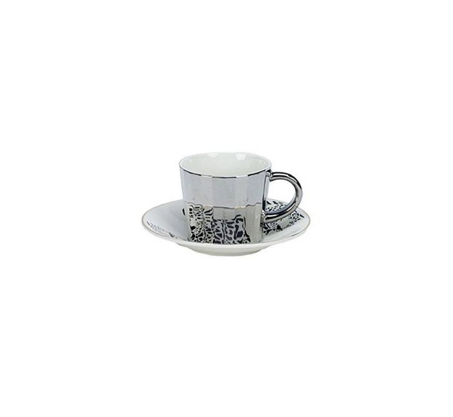 Bricard koffie set - Malia - Dark Gold 12-delig