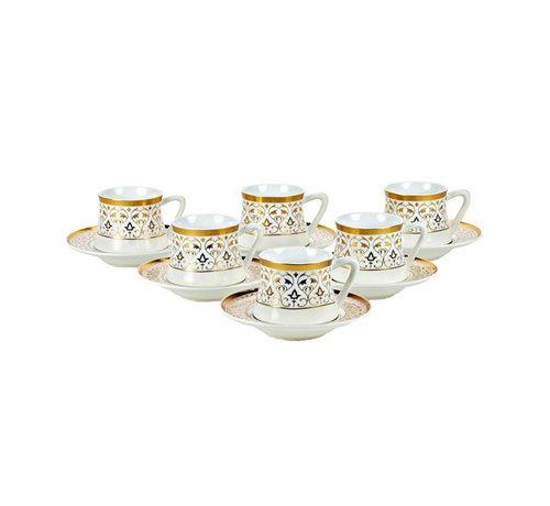 Bricard Bricard Ottoman koffie set - Konya -  12-delig