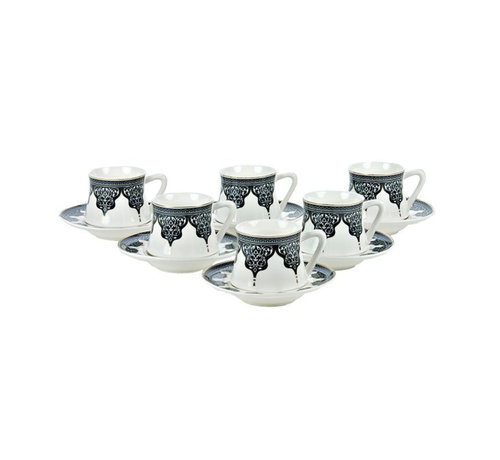 Bricard Bricard Ottoman koffie set - Bursa -  12-delig