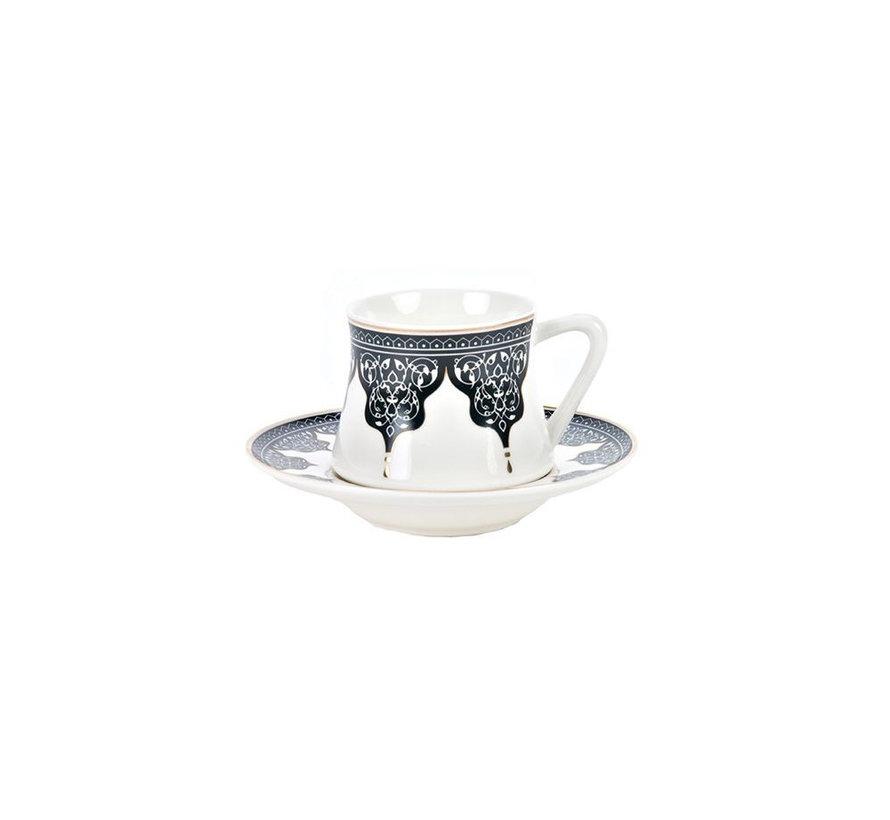 Bricard Ottoman thee-espresso set - Bursa -  18-delig
