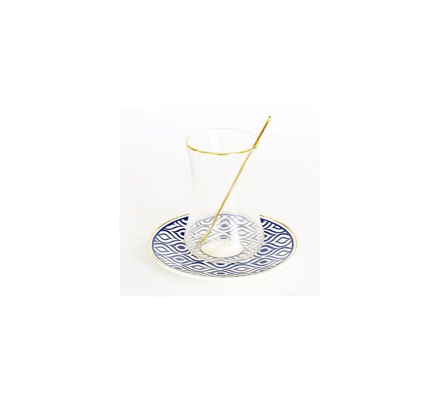 Bricard thee-espresso set - Tangier - 24-delig