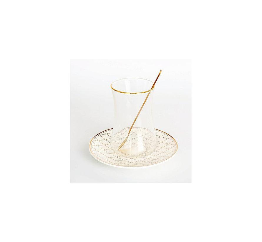 Bricard thee-espresso set - Almeria - 24-delig