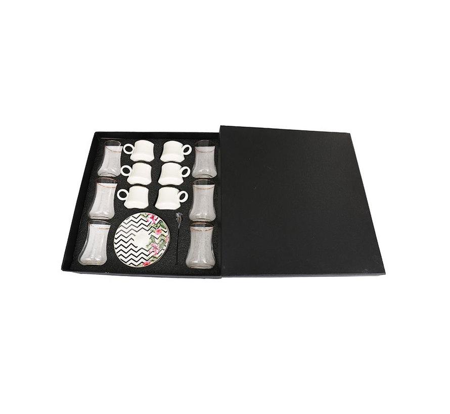 Bricard thee-espresso set - Calpe  - 24-delig
